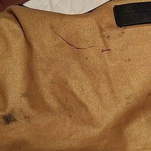 ANTONIO MELANI Bags - Antonio Melani Orange/Brown Leather Shoulder Bag